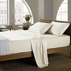 Sheridan - Cream '400 Soft Sateen' sheets