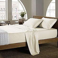 Sheridan - Beige 400 thread count sheridan sateen square pillow case