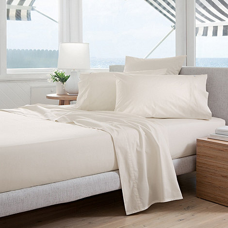 Sheridan - Ivory +Classic Percale+ sheets