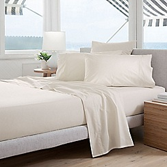 Sheridan - Cream 300 thread count percale single duvet cover