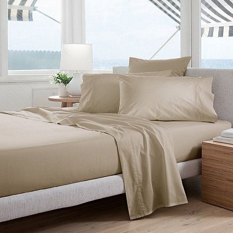 Sheridan - Natural +Classic Percale+ sheets