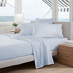 Sheridan - Pale blue 300 thread count percale Oxford pillow case