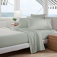 Sheridan - pale green 'Classic Percale' sheets