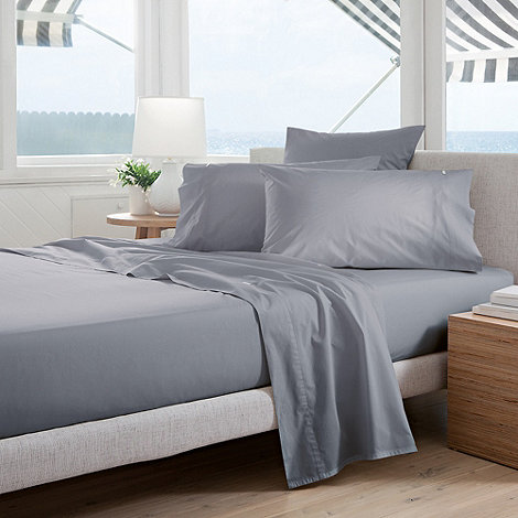 Sheridan - Pale blue +Classic Percale+ sheets