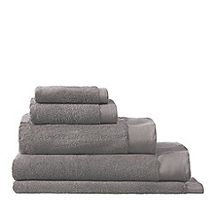 Sheridan - Dark grey 'Luxury Retreat' towels