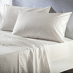 Sheridan - Cream 'Alford' sheets