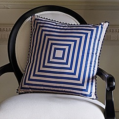 Sheridan - Dark blue 'rosemont' cushion