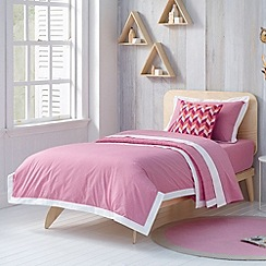 Sheridan - pink 'Perry' kid's bed linen