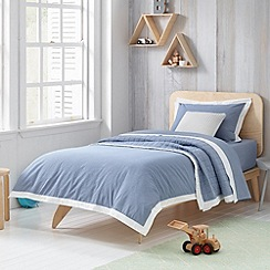 Sheridan - blue 'Perry' kid's bed linen