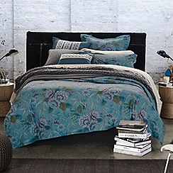 Sheridan - Dark green 'Cheyenne' bed linen