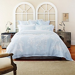Sheridan - Light blue 'Porchester' bed linen