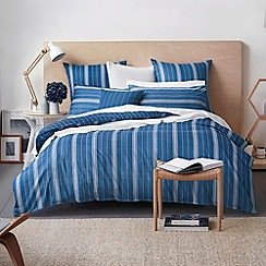 Sheridan - Dark blue 'Bramwell' bed linen