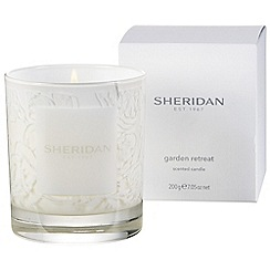 Sheridan - Cream 'Garden retreat' candle