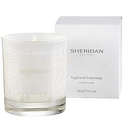 Sheridan - Cream 'Highland hideaway' candle