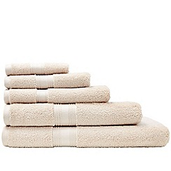 Sheridan - Cream 'Quick Dry Luxury' towels