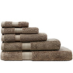 Sheridan - Brown 'Quick Dry Luxury' towels