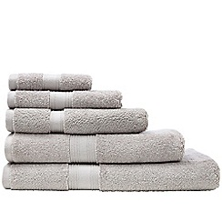 Sheridan - Silver 'Quick Dry Luxury' towels