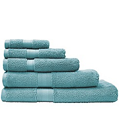 Sheridan - Green 'Quick Dry Luxury' towels