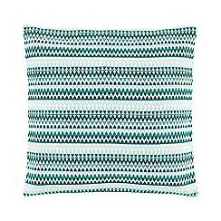 Sheridan - Dark Green 'Stalactites cushion