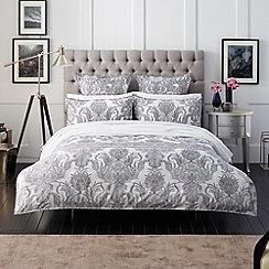 Sheridan - black 'Folaige' bed linen
