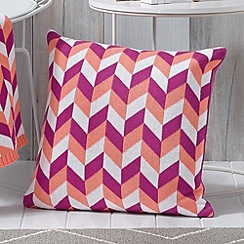 Sheridan - pink 'Nightsky' cushion