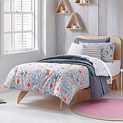Sheridan - light blue 'Posie' kid's bed linen
