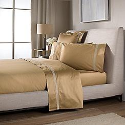 Sheridan - Bronze 'Palais Lux' 1200 thread count sheet pillow case pair