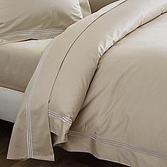 Sheridan - Camel 1200 thread count 'Palais lux' flat sheet