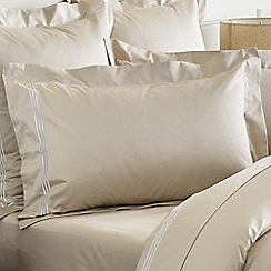 Sheridan - Camel 1200 thread count 'Palais lux' Oxford pillow case