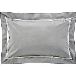 Sheridan - Dark grey 1200 thread count 'Palais lux' Oxford pillow case