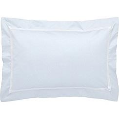 Sheridan - Light blue 1200 thread count 'Palais lux' Oxford pillow case