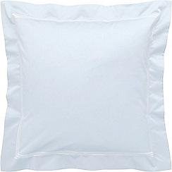 Sheridan - Light blue 1200 thread count 'Palais lux' square pillow case