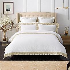 Sheridan - white 'Ulrick' bed linen