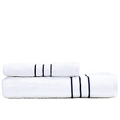 Sheridan - White 'Palais' towels