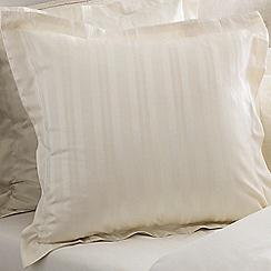 Sheridan - Cream 'Damask' square pillow case