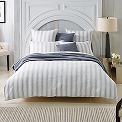 Sheridan - white 'Lake Salt' bed linen