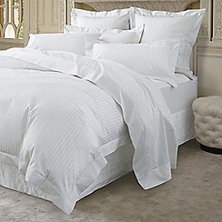 Sheridan - White 1200 thread count 'Millennia' flat sheet