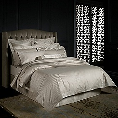 Sheridan - Dark cream 'Millennia' bed linen