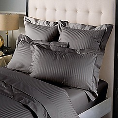 Sheridan - Dark grey 1200 thread count 'Millennia' deep fitted sheet