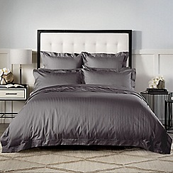 Sheridan - Dark grey 1200 thread count 'Millennia' pillow case pair
