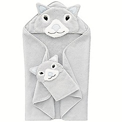 Sheridan - Platinum 'Wombie' baby towel
