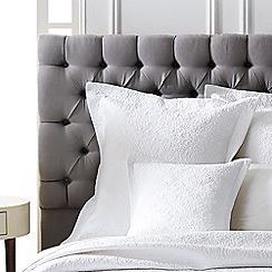 Sheridan - White 'Bicton' cushion