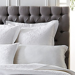 Sheridan - White 'Bicton' pillowcases