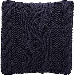 Sheridan - Navy 'Corrigin' cushion