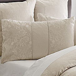 Sheridan - Beige 'Berridge' pillow case pair