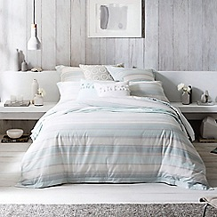 Sheridan - Pale green 'Evandale' square pillow case