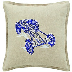 Sheridan - Deep sea 'Barlee' cushion