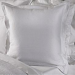 Sheridan - Pale grey 'Christobel' square sham pillow case
