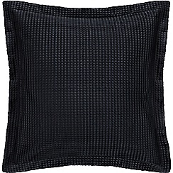 Sheridan - Midnight quilted 'Christobel' square pillow case