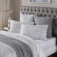 Sheridan - White 'Beadmore' pillow case pair